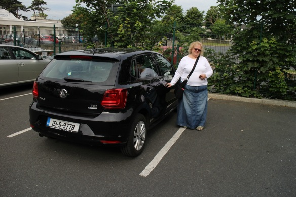 Our little Volkswagen Polo. I really enjoyed driving this car.