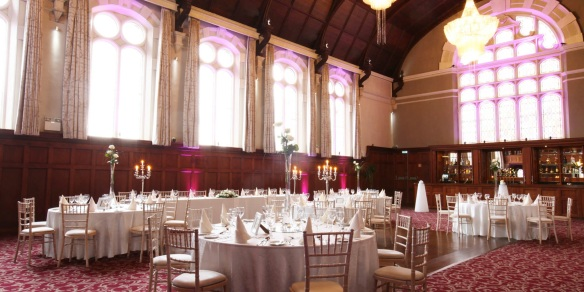 My photos of the hall did not come out very well, so I borrowed this one from the Clayton Hotel website. It's a lovely room.