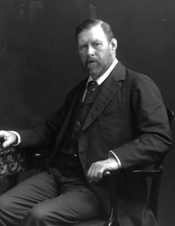 Bram Stoker, ca. 1906. PD.