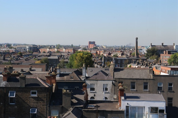 "The rooftops of Dublin. ""Chim-chiminy, chim-chiminy …"""