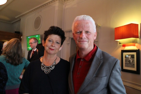 Sinéad and her husband, Brian; he's an ESB colleague of Gerry's.