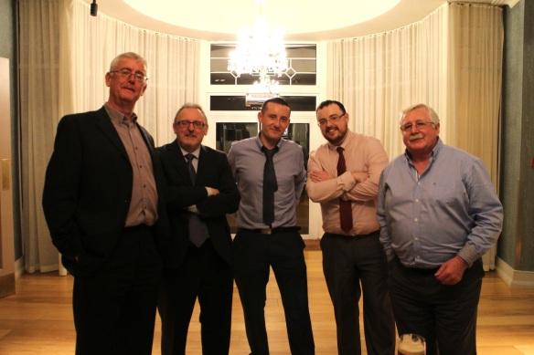 Fran, Gerry, Eoin, Neil, Paddy O.
