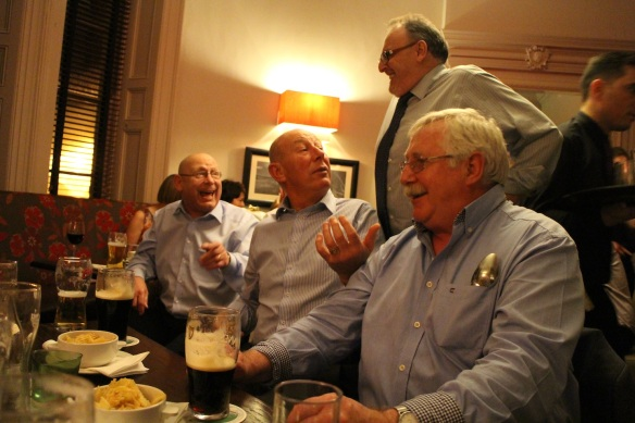 Phillip D., Paddy M., Gerry, Paddy O. The old crowd. :)