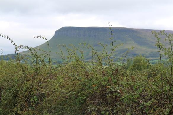 Going through Sligo: Ben Bulben. It's quite a sight!