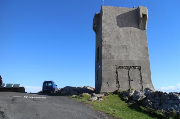 The Martello tower at Malin Head.
