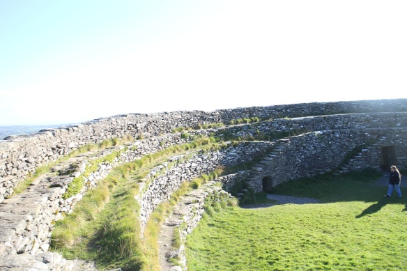 Another angle of the Grianán of Aileach, October 2015.