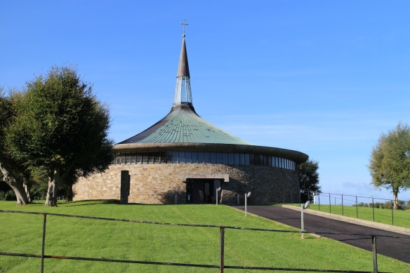 St. Aengus's [Catholic] Church in Burt, Ireland, built 1967.