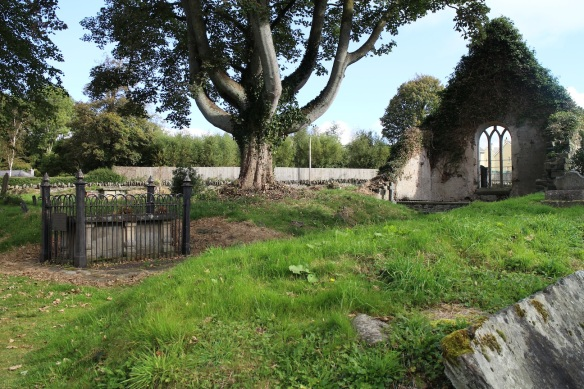 The grave of Agnes Jones, in Fahan, Co. Donegal. October 2015.