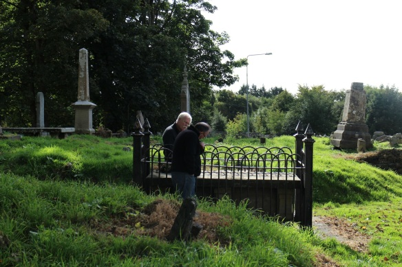 The Victorians did a lot of fencing around important graves.