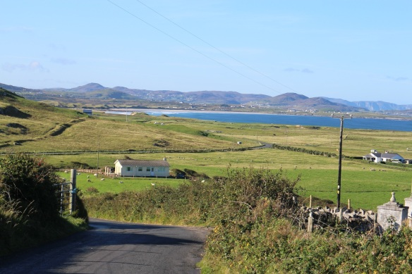 Looking back the way we came to Fanad.