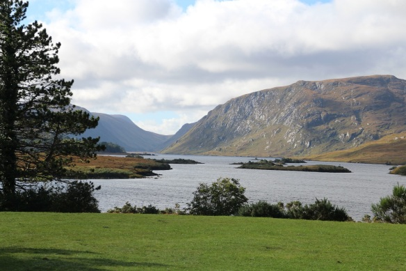 A view of Lough Veagh in Glenveagh National Park, October 2015.