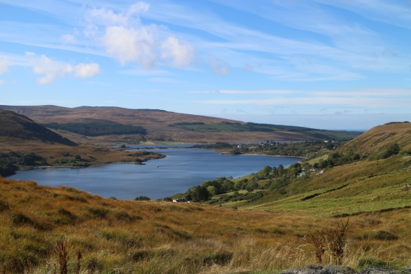 A view of Dunlewy Lough, opposite Mount Errigal. What a brilliant day that was!