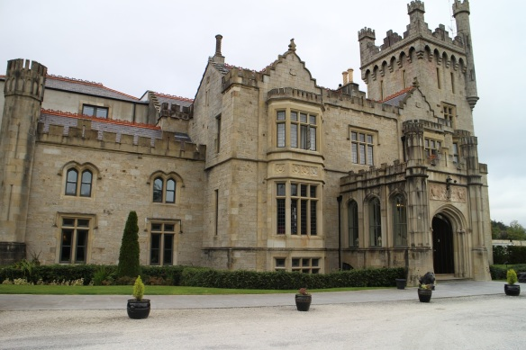 Here's another angle of the Lough Eske Castle Hotel, October 2015.