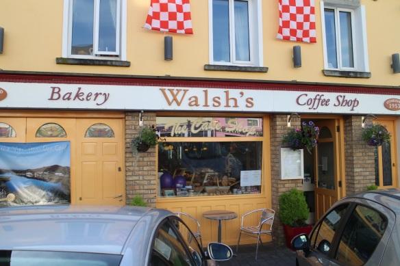 Walsh's Bakery, est. 1953, Clifden.