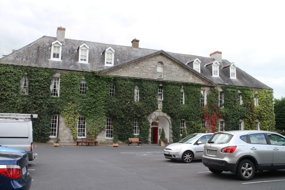 But then we found it! Celbridge Manor Hotel.
