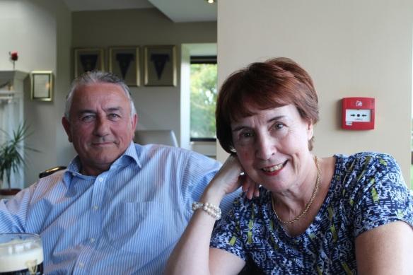 Pat and Brenda Yeates.