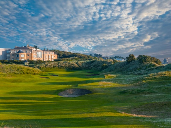 Snagged this photo from the Portmarnock's recently updated website.