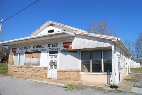 "Carlton's General Store—""We Sell Most Anything""—of Rover, Tennessee."