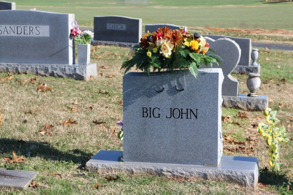 Big John. I must go back to find out if he was a Simpson.