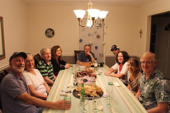 Tom, Maggie, Kent, Charmaine, Gerry, Mike, Kathy, Teri, Dan.