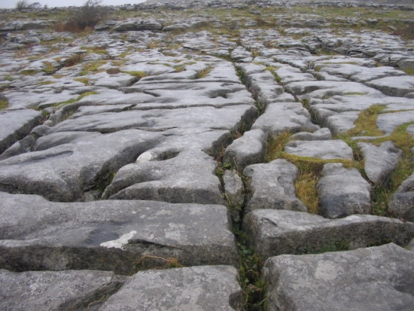 But you know it when you see it. The Burren.