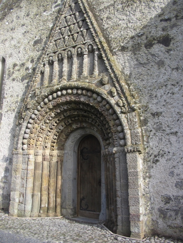 Am I right? Clonfert Cathedral (St. Brendan's), 2006.