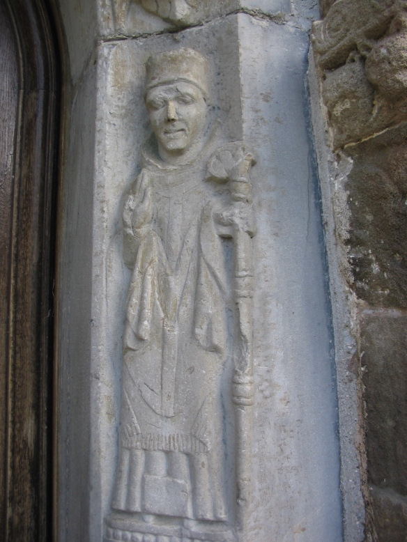 Detail of the door, Clonfert Cathedral, 2006.