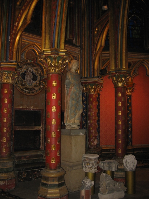 Just to show you the magnificent color. The lower chapel, 2006.